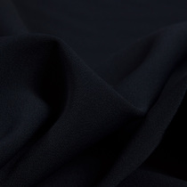 Вискозный креп-кади темно-синего цвета